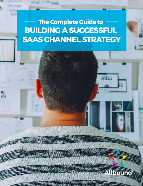 saas channel strategy allbound